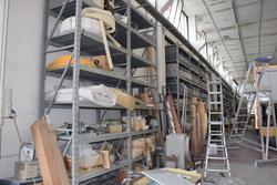 Ponteggi Dalmine shelving and furnishings - Lot  (Auction 3131)