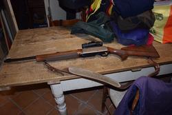 Bolognini and Benelli semi automatic rifle - Lote  (Subasta 3151)