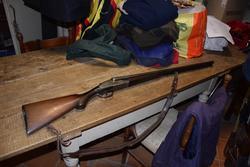 Bolognini double rifle - Lote 19 (Subasta 3151)