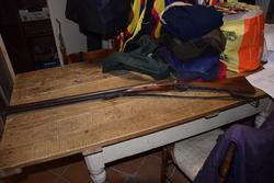 Double shotgun Damas rifle and artisan - Lote 21 (Subasta 3151)