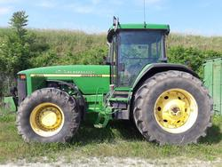 John Deere tractor - Lot 1 (Auction 3163)