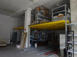 Mezzanine with lighting system - Lot 1 (Auction 3164)
