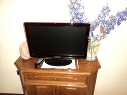 Tv Samsung e divano con penisola - Lotto 3 (Asta 3169)