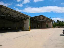 Canopies with steel structure - Lot 1 (Auction 3176)