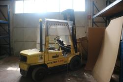 Hyster electric forklift - Lot 4 (Auction 3179)