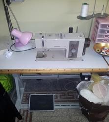 Bernina sewing machine and Polti iron - Lot 1 (Auction 3199)