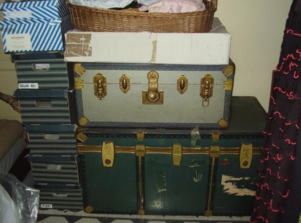 10#3199 Bauli vintage e radio