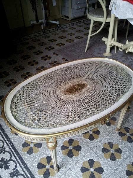 Immagine n. 2 - 12#3199 Panchina e tavolino vintage