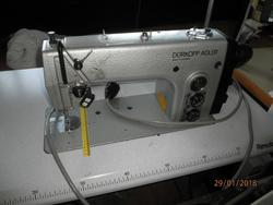 Durkopp Adler flat machine and Rimoldi cut and sew machines - Lot 1 (Auction 3201)