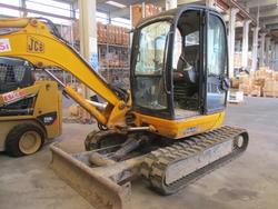 Mini escavatore JCB mod. 8045 - Lotto  (Asta 3211)