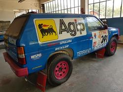 Nissan King Cab rally - Lot 8 (Auction 3215)