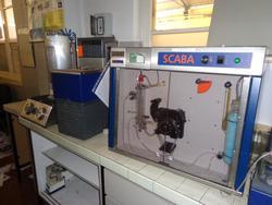 Analizzatore per birra Scaba e agitatore orbitale Lab Shaker - Asta 3219