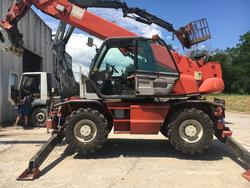 Manitou Mrt 21 45 turbo telescopic handler with forks - Lot 1 (Auction 3222)