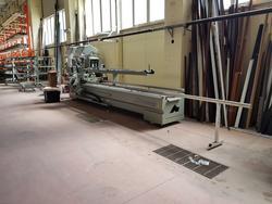 Macchinari per la produzione di infissi di alluminio Emmegi - Lotto 1 (Asta 3239)