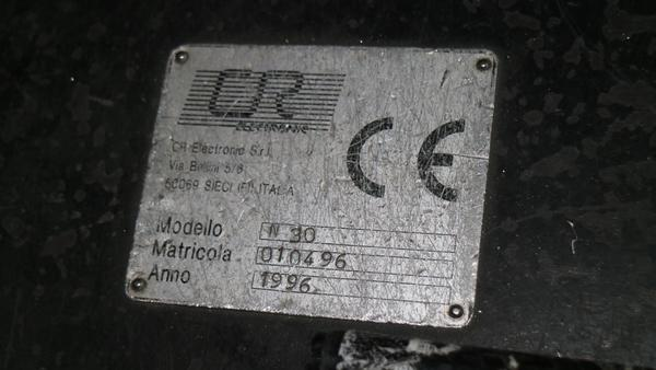 Immagine n. 2 - 4#3250 Nervatrice CR Electronic