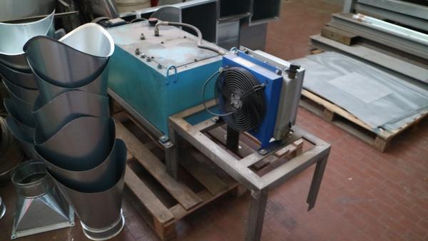 Immagine n. 6 - 9#3250 Scambiatore di calore Emmegi e compressore Parise