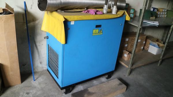 Immagine n. 11 - 9#3250 Scambiatore di calore Emmegi e compressore Parise