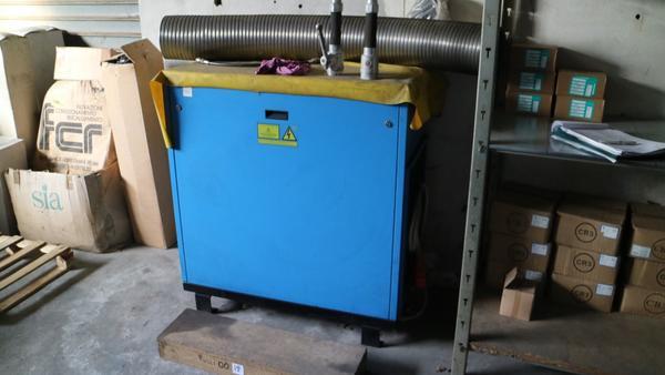 Immagine n. 13 - 9#3250 Scambiatore di calore Emmegi e compressore Parise