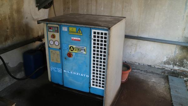 Immagine n. 14 - 9#3250 Scambiatore di calore Emmegi e compressore Parise