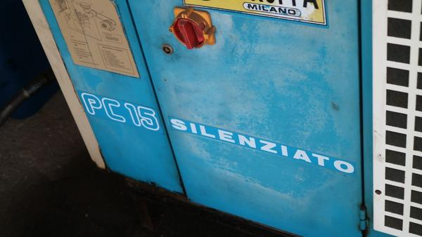 Immagine n. 17 - 9#3250 Scambiatore di calore Emmegi e compressore Parise