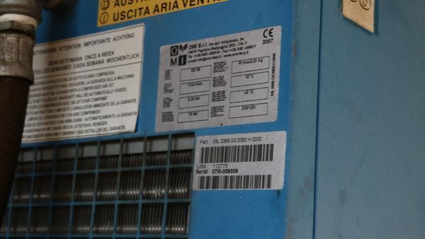 Immagine n. 19 - 9#3250 Scambiatore di calore Emmegi e compressore Parise