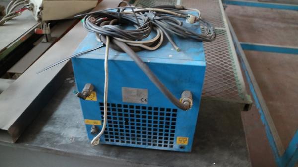 Immagine n. 20 - 9#3250 Scambiatore di calore Emmegi e compressore Parise