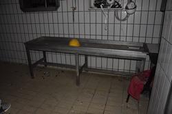 Tavolo in acciaio - Lotto 12 (Asta 3256)