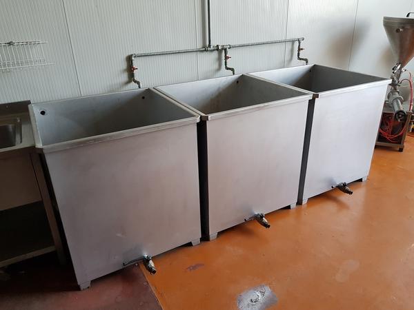 19#3260 Vasche per lavaggio frutta