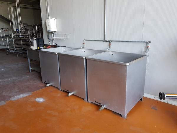 Immagine n. 2 - 19#3260 Vasche per lavaggio frutta
