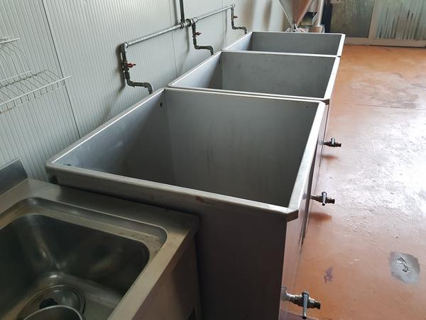 Immagine n. 3 - 19#3260 Vasche per lavaggio frutta