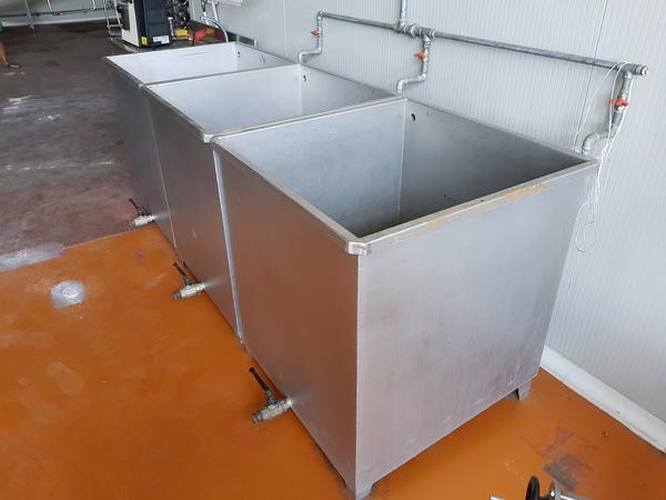 Immagine n. 4 - 19#3260 Vasche per lavaggio frutta