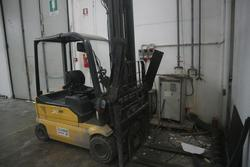 OM XE20 forklift - Lot 28 (Auction 3266)