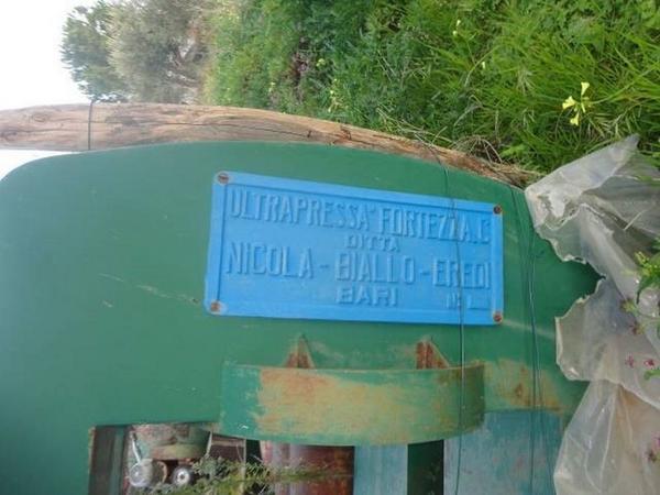 Immagine n. 3 - 1#3272 Impianto molitura olive Nicola Biallo Eredi