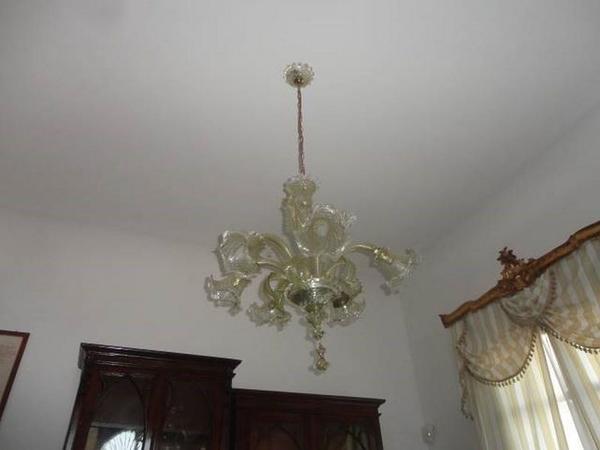 Immagine n. 23 - 3#3272 Lampadari vetro di murano e lavastoviglie Smeg