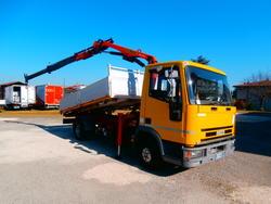 Iveco Eurocargo 75E12 truck with Palfinger crane - Lot 8 (Auction 3278)