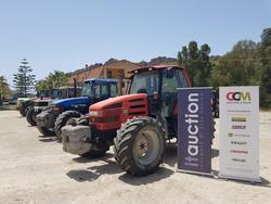 John Deere  New Holland and Massey Ferguson tractors - Lote  (Subasta 3287)