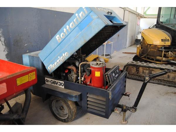 45#3287 Motocompressore Bottarini GBV 30 a vite