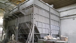 Boxed silos FT73 floor oven and dust collector - Lote  (Subasta 3295)