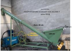 Miscelatore verticale a coclea AG/300-T Beccaria - Lotto 8 (Asta 3295)