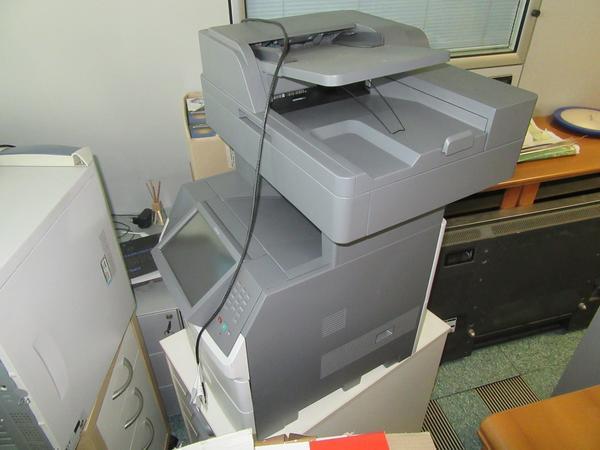 4#3327 Stampante Lexmark e attrezzatura elettronica da ufficio