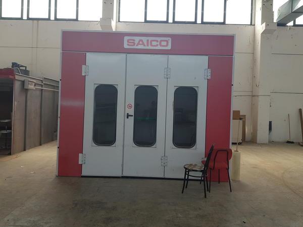Immagine n. 1 - 2#3329 Forno per verniciatura marca Saico con caldaia gas/gasolio