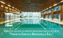 Shareholding of 38 41  of the share capital Terme di Cervia e Brisighella S r l - Lote 0 (Subasta 3353)
