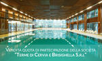 Shareholding of 38 41  of the share capital Terme di Cervia e Brisighella S r l  - Lot 1 (Auction 3353)