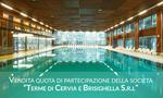 Quota di partecipazione del 38,41% del capitale sociale Terme di Cervia e Brisighella S.r.l - Lotto 1 (Asta 3353)