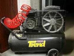 Compressore Dari Trend e compressore Fini Tiger - Lotto 73 (Asta 3362)