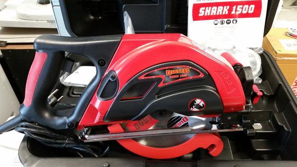 88#3362 Sega elettrica Diatec Shark 1500