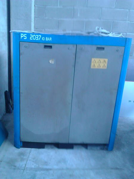14 3370 compressore a vite m g f bologna emilia for Gruppi elettrogeni usati 10 kw