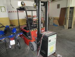 Sibicar electric forklift - Lot 2 (Auction 3377)