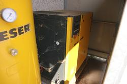 Kaeser compressor and Abac dryer - Lot 18 (Auction 3383)