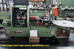 IMA Quadromat 212 single sided edge bander - Lot 88 (Auction 3388)